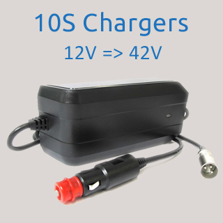 10S 42V Car Chargers